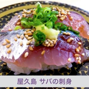 サバ特集(2)-屋久島でしか食べれないサバの刺身&ネットから注文できるサバ味噌【世界!ニッポン行きたい人応援団】